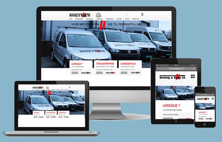 responsiv webside